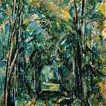 Paul Cezanne - Path in Chantilly