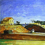 Paul Cezanne - The Railway Cutting