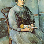 Paul Cezanne - Girl with Doll