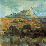Paul Cezanne - Mont Sainte-Victoire Seen from Les Lauves (Switzerland)