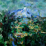 Paul Cezanne - Mont Sainte-Victoire Seen from Les Lauves (Basel)