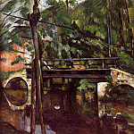 Paul Cezanne - The bridge of Maincy