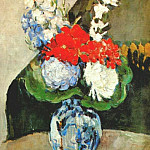 Paul Cezanne - small delft vase 1873-5