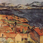 Paul Cezanne - VIEW OF LESTAQUE, OIL