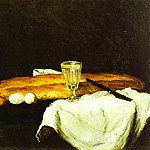 Paul Cezanne - Bread and Eggs
