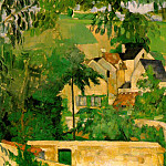 Paul Cezanne - ETUDE- PAYSAGE A AUVERS (STUDY- LANDSCAPE AT AUVERS)