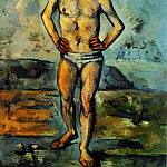Paul Cezanne - THE BATHER,1885-87, MOMA