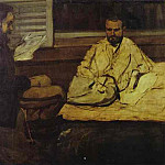 Paul Cezanne - Paul Alexis Reading to Emile Zola