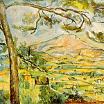 Paul Cezanne - MONT SAINTE-VICTOIRE,1885-87, CORTAULD INST.OF ART,L