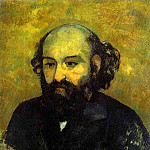 Paul Cezanne - Self-portrait (Hermitage)