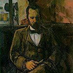 Paul Cezanne - PORTRAIT OF AMBROUSE VOLLARD,1899, MUSEE DU PETIT PA