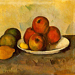 Paul Cezanne - STILL LIFE WITH APPLES,C.1890, EREMITAGET