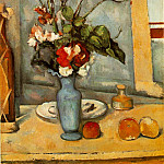 Paul Cezanne - THE BLUE VASE,1883-87, MUSEE DORSAY, PARIS
