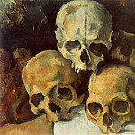 Paul Cezanne - PYRAMID OF SKULLS,C.1901, PRIVATE, VENTURI 753