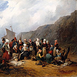 Gustav Adolf Boenisch - French fish market