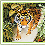 Beryl Cook - CookBeryl_i05_The_Tiger-WeaSDC