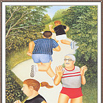 Beryl Cook - CookBeryl_h14_Morning_Run-WeaSDC