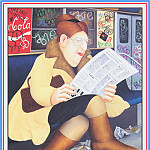 Beryl Cook - CookBeryl_e19_Reading_the_Newspaper-WeaSDC