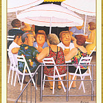 Beryl Cook - CookBeryl_b36_Summer_Afternoon-WeaSDC