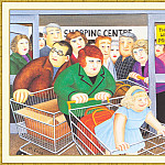 Beryl Cook - CookBeryl_b24_Shopping-WeaSDC
