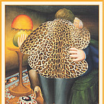 Beryl Cook - CookBeryl_g06_The_Leopardskin_Coat-WeaSDC
