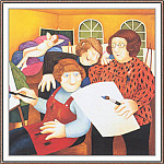 Beryl Cook - CookBeryl_h16_The_Art_Class-WeaSDC