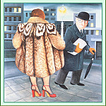 Beryl Cook - CookBeryl_c03_My_Fur_Coat-WeaSDC