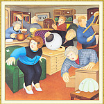 Beryl Cook - CookBeryl_b31_Auction_Room-WeaSDC