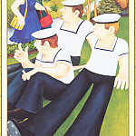 Beryl Cook - CookBeryl_b03_Sailors_and_Virgins-WeaSDC