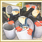 Beryl Cook - CookBeryl_b15_Dustbin_Men-WeaSDC