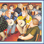 Beryl Cook - CookBeryl_a25_The_Banjo_Players-WeaSDC