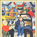 Beryl Cook - CookBeryl_b33_Car_Boot_Sale-WeaSDC