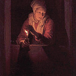 Gerrit Dou - Candle