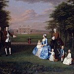 Arthur William Devis - Robert Gwillym of Atherton and his Family