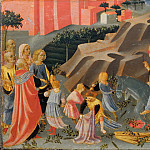 Giovanni Francesco da Rimini - Entry of Jesus into Jerusalem