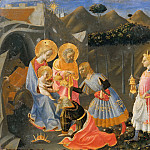Biagio d'Antonio Tucci - Adoration of the Magi