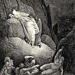 Gustave Dore - It-s Thais the prostitute who answered at the words of her lover -Don-t you owe me lots of favours- -Oh yes wonderful ones.-