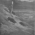 Gustave Dore - The beseech That Moses might report to them his will And terror cease