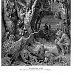 Gustave Dore - The Hapies Wood