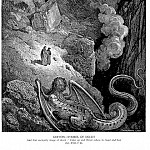 Gustave Dore - Geryon Symbol of Deceit