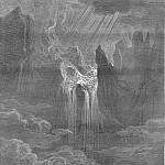 Gustave Dore - Wave rolling after wave where way they found If steep with torrent rapture