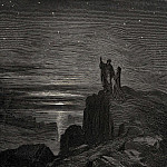 Gustave Dore - We came out and here we could again see the stars