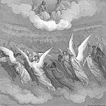 Gustave Dore - Heaven rung With jubilee and loud hosannas filled The eternal regions