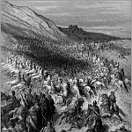 Gustave Dore - crusades surrounded by saladin