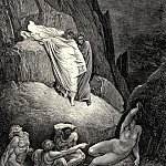 Gustave Dore - It-s Thais the prostitute who answered at the words of her lover -Don-t you owe
