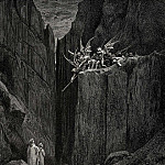 Gustave Dore - Scarcely had his feet reach-d to the lowest of the bed beneath