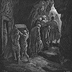 Gustave Dore - Bible 1866 The Burial of Sarah
