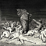 Gustave Dore - Thy city heap-d with envy to the brim held me in brighter days