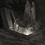 Gustave Dore - He in disdainful mood address-d me -Say what ancestors were thine-