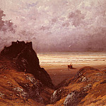 Gustave Dore - Castle On The Isle Of Skye